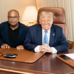 Trump Meets Blueflame Spokesman Mike Singletary as Millions Lose CARES Aid